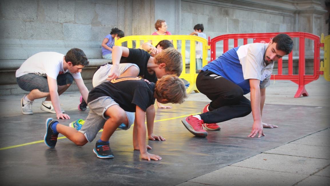Europa bailó a ritmo de Breakdance en Alcalá#BeActive